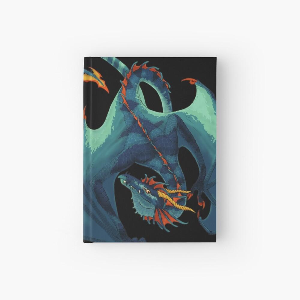 Blauer Wyvern Notizbuch