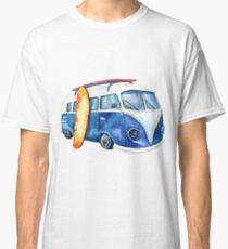 Volkswagen Kombi watercolor Classic T-Shirt
