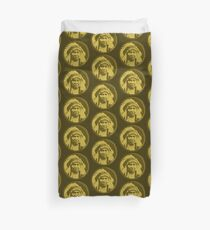 Vintage Native American Chief Duvet Cover