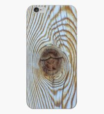 Wooden Knot Texture iPhone Case