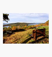 Enfield Overlook ~ at The Quabbin Photographic Print
