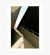 Staircase in Nagoya, Japan Art Print