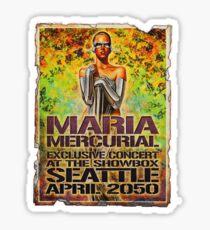 maria mercurial Sticker