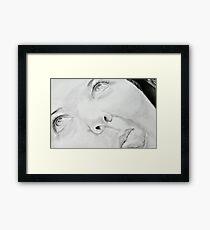 A Silly Portrait Framed Print