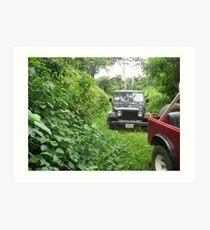Jeep Journey Art Print