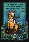 Insulting dog by Jenny Wood