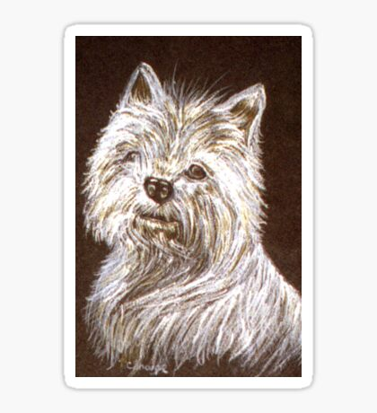 West Highland White Terrier Sticker