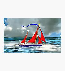 A Perfect Day For a Sail Photographic Print