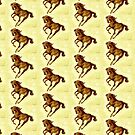 Running wild Horse Print by sharpie
