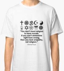 Religion & Morals Classic T-Shirt