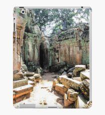 Ruins in Siem Reap iPad Case/Skin