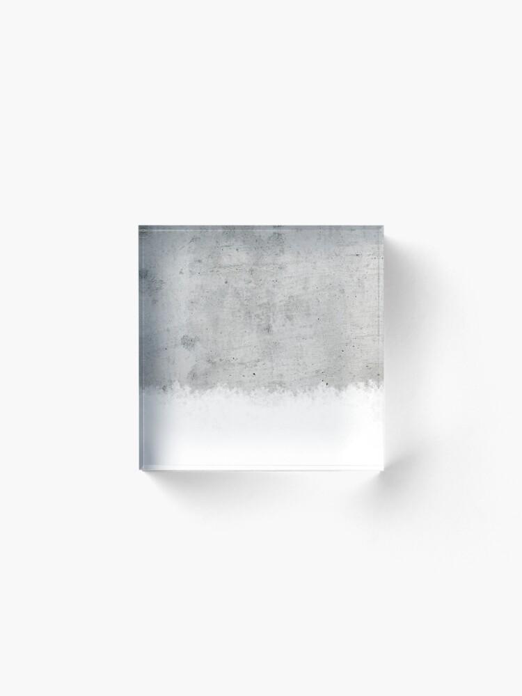 Alternative Ansicht von Beton Acrylblock