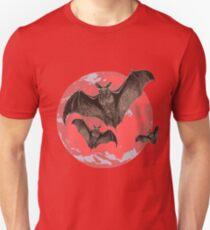 Bats in the full moon T-Shirt