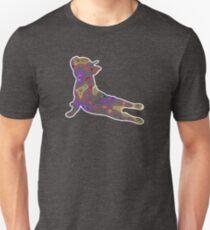 Hippie Bulldog Yoga Unisex T-Shirt