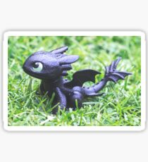 How to Train Your Dragon - Toothless Mini Figurine Sticker