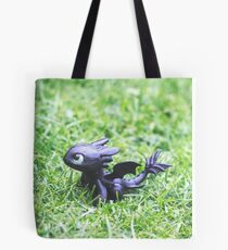 How to Train Your Dragon - Toothless Mini Figurine Tote Bag