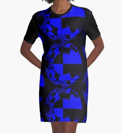 Fragmented II Graphic T-Shirt Dress