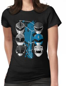 It's Morphin Time - Triceratops Womens Fitted T-Shirt