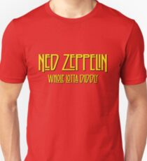 Ned Zeppelin - Whole Lotta Diddly (Simpsons) Unisex T-Shirt