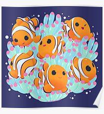 Clownfish Playground Poster