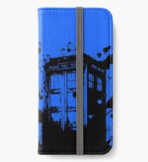 Tardis - Doctor Who  iPhone Wallet