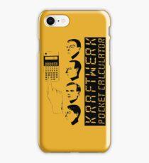 KRAFTWERK - COMPUTER WORLD - POCKET CALCULATOR iPhone Case/Skin