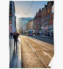 Corporation Street, Birmingham, UK. Poster