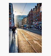 Corporation Street, Birmingham, UK. Photographic Print