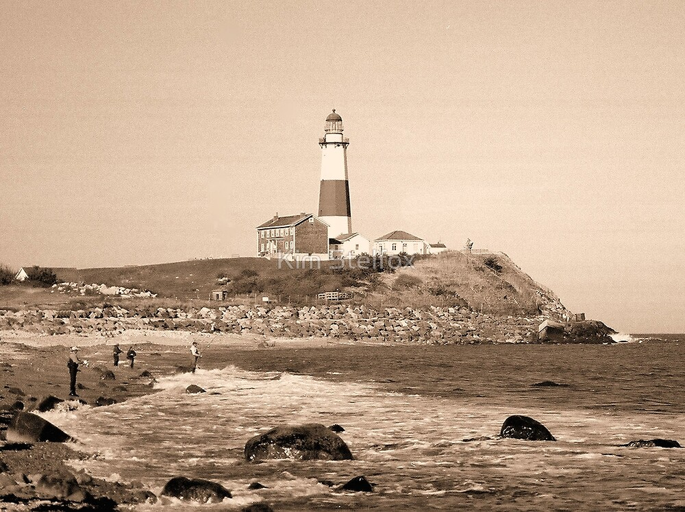 montauk lighthouse by Kim Stelfox