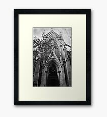 gothic cathedral Framed Print