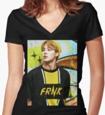 Jimin Women's Fitted V-Neck T-Shirt
