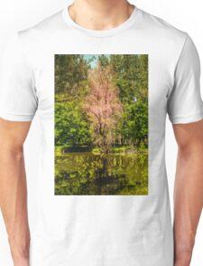 Autumn tree colorful Unisex T-Shirt