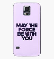 Möge die Macht Hülle & Klebefolie für Samsung Galaxy