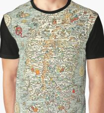 Ancient map Graphic T-Shirt