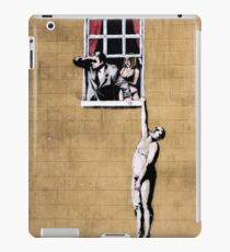 Banksy - Park Street Indiscretion iPad Case/Skin