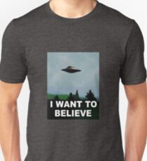 The X Files - I want to believe  T-Shirt