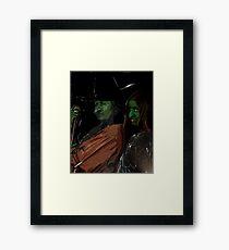 Apprentice and tutor Witch Hazel Framed Print