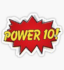 Pegatina ¡Superhéroes del Rowing - Power 10!