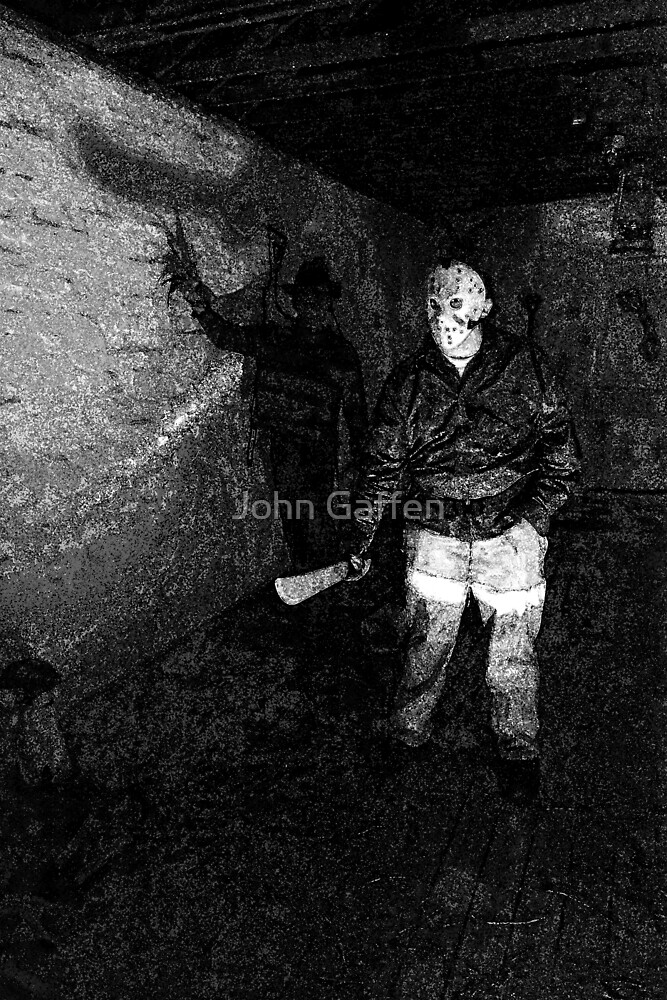Jason in his Barn by John Gaffen