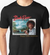 Bob Ross 90s Print T-Shirt