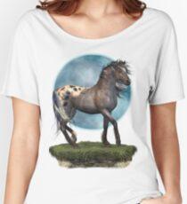 Storm .. an appaloosa stallion Women's Relaxed Fit T-Shirt