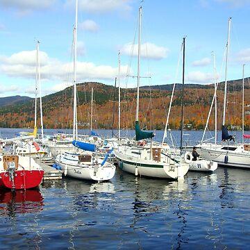 Boats in Fall by miijojo1994