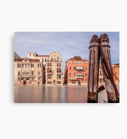 Ghostly Venice Canvas Print