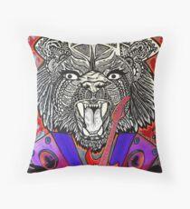 Bear Guitar Throw Pillow