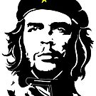 Che Guevara in star beret by tqueen