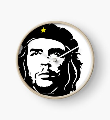Che Guevara in star beret Clock