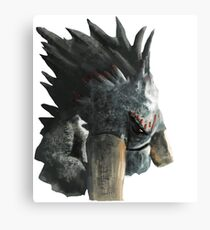 How to train your dragon - Alpha Canvas Print