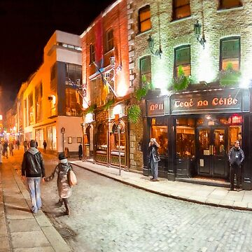 Night Out In Dublin Ireland - Temple Bar by marksda1
