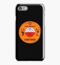 BOSS REGGAE VINYL iPhone Case/Skin