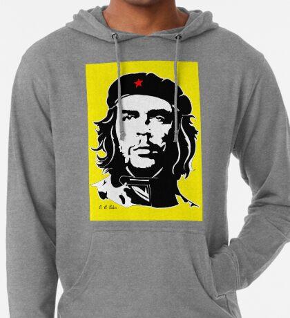 Che Guevara yellow background Lightweight Hoodie